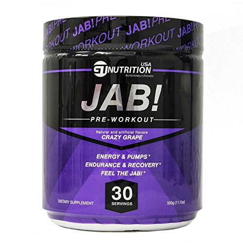 GT Nutrition USA Jab Crazy Grape Supplement, 333 Gram
