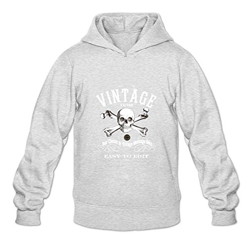 HOODY COLOR Men's EDWARD ENGLAND PIRATE Vintage Vector Easy to Edit Pullover Hoodies Light Grey (Edward Light T-shirt)
