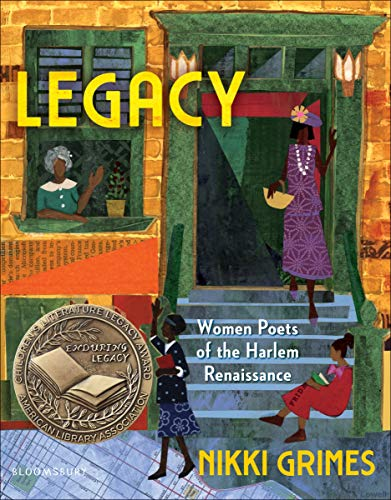 Book Cover: Legacy: Women Poets of the Harlem Renaissance