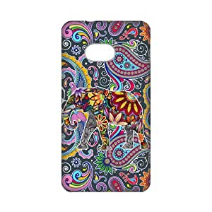 Top Sale Vintage Newspaper Elephant Floral Trunk Hard Plastic Cover Case (HD Image) For HTC One M7-06