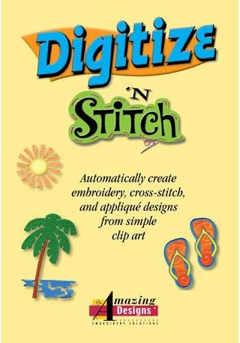 Amazing Designs Digitize N Stitch Embroidery Software Amazon Ca Home Kitchen