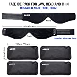 Ice Pack for Jaw, Chin, Face Head - Hot Cold