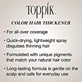 Toppik Colored Hair Thickener, Light Brown, 5.1 oz