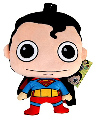 "Price comparison product image Superman Plush Backpack, DC Comics Official Licensed, 36cm (14.1"")"