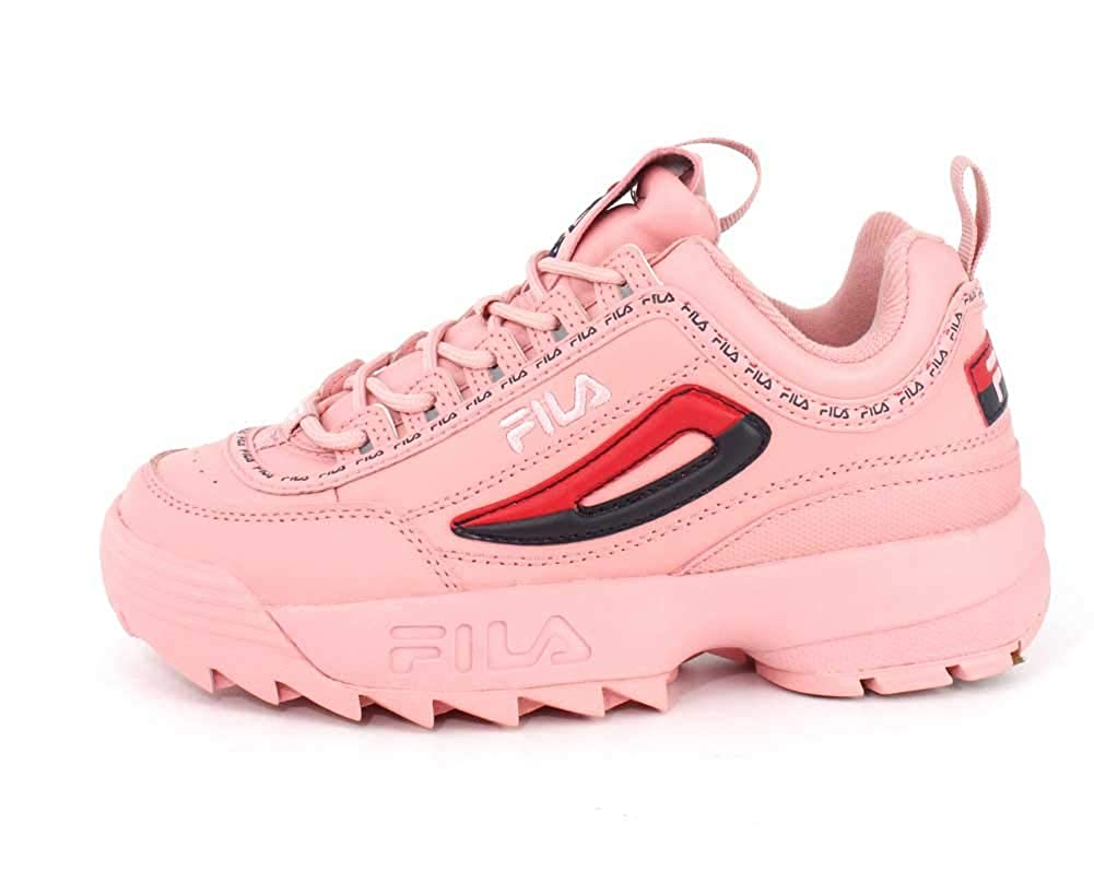 2 Sneakers Scarpe Rosadisruptor Basse Fila Donna Yby6f7g