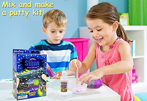 8dd532853 Buy Party Propz Galaxy Slime Kit - Non Borax Slime Kits - Glitter Slime Lab  Kit for Kids - New Galaxy Science Kit Best Galaxy DIY Slime Kit (Set of 1)  ...