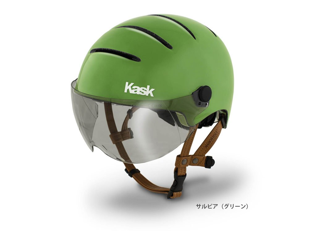 KASK (カスク) LIFESTYLE アーバンヘルメット サルビアグリーン M 2048000001274   B01DPGJKA6