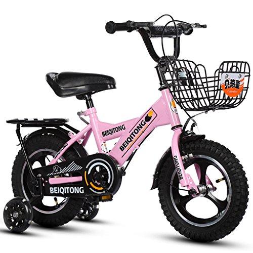 YON JIU Une Roue Vélo, Garçons Et Filles Vélo Safe Childhood Personal Vélo 2-11 Ans Bébé Auxiliaire Roue Vélo 88-121 CM (Color : D, Size : 88CM)