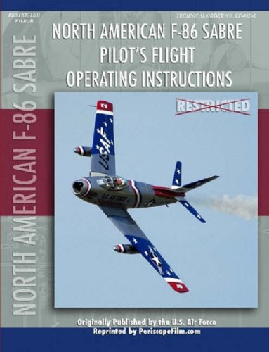 F-86 Sabre Pilot's Flight Operating Manual