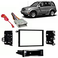 Fits Suzuki Vitara 1999-2004 Double DIN Stereo Harness Radio Install Dash Kit