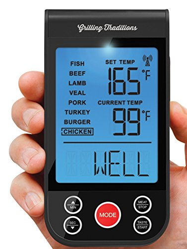 Amazon Grilling Traditions Wireless Grilling Thermometer