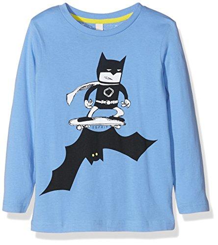 Esprit Kids Jungen T-Shirt RI1001E, Blau (Hellblau 440), 104