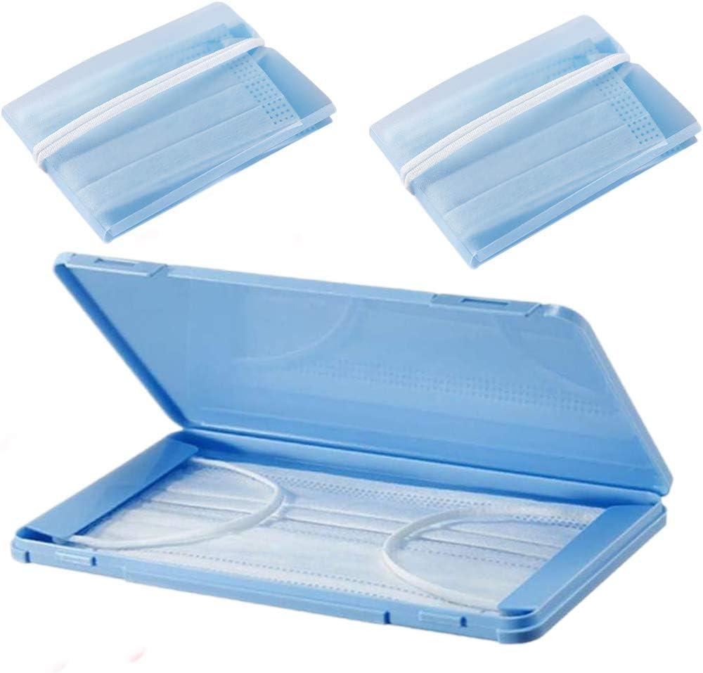 TEFIRE Portátiles Caja de Almacenamiento, Antipolvo Caja Almacenaje, Multicolor (Azul): Amazon.es: Hogar