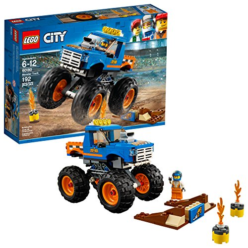 LEGO City Monster Truck 60180 Building Kit (192 Pieces) (Truck Water Salt Monster)