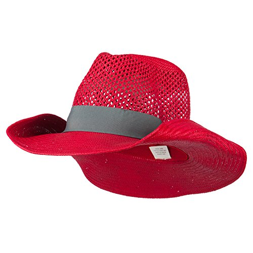 Women's Lightweight Cowboy Hat - Red OSFM