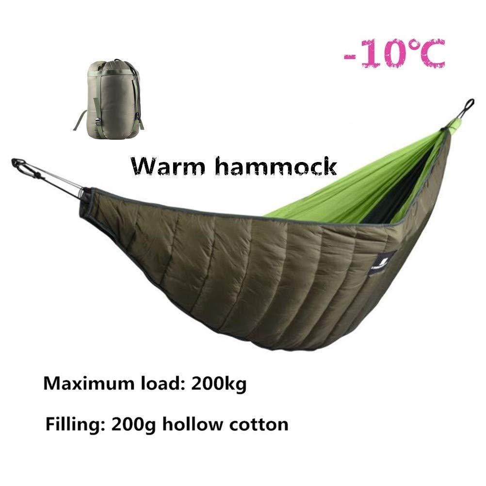 素晴らしい品質 BeesClover ハンモック アンダーキルト 冬用 暖かい キルトブランケット アウトドア キャンプ用   B07LBPWZN6, 天然石のお店 Sun flower dd7956ea