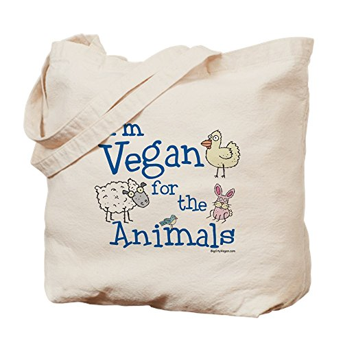 CafePress Animals Natural Canvas Shopping