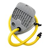 SEAMAX Foot Pump with HR Air Valve Adapter for Inflatable Boat Single Stage Max 3.5 PSI