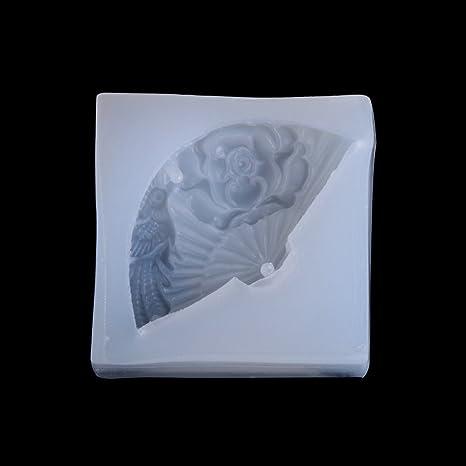 SimpleLife Colgante de Silicona Molde de Resina Ventilador ...