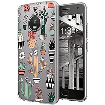 Amazon.com: Moto G5 Plus Case, DOUJIAZ Gray Shiny Rose Gold ...