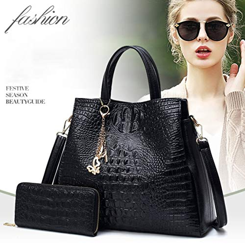sac sac à femmes grande à à bandoulière unique crocodile Les à composite la PU cuir bandoulière mode capacité bandoulière sac en Simple sac de v0w5qAnx