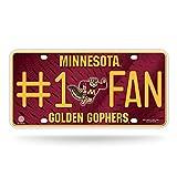 Rico NCAA Minnesota Golden Gophers #1 Fan Metal
