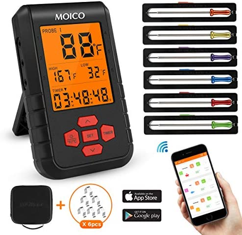 Thermometer MOICO Wireless thermometer Bluetooth product image