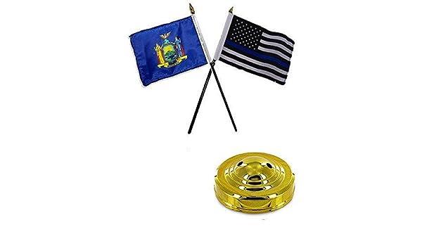 Juego de escritorio mesa de bandera de Estado de Nueva York y de ...