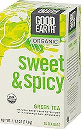 (Good Health Earth Tea Green Sweet & Spicy Organic, 18)