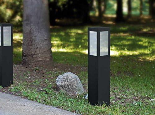 Balizas de Acero y Aluminio : Colección PRISMA de 10x25x10cms: Amazon.es: Hogar