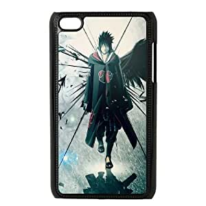 iPod Touch 4 Case Black sasuke rfuz