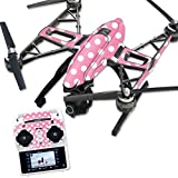 MightySkins Protective Vinyl Skin Decal for Yuneec Q500 & Q500+ Quadcopter Drone wrap cover sticker skins Mini Dots