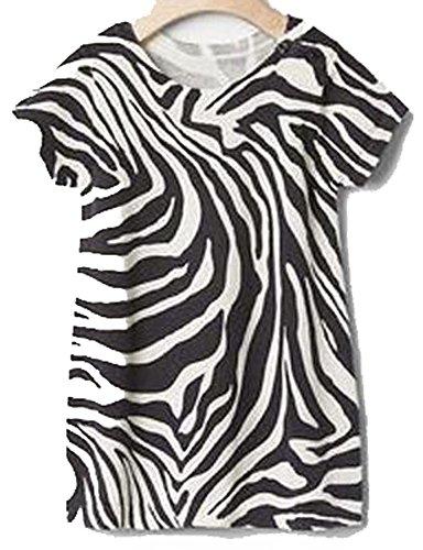 Baby Gap Girls Gray White Zebra Sweater Dress 6-12 months