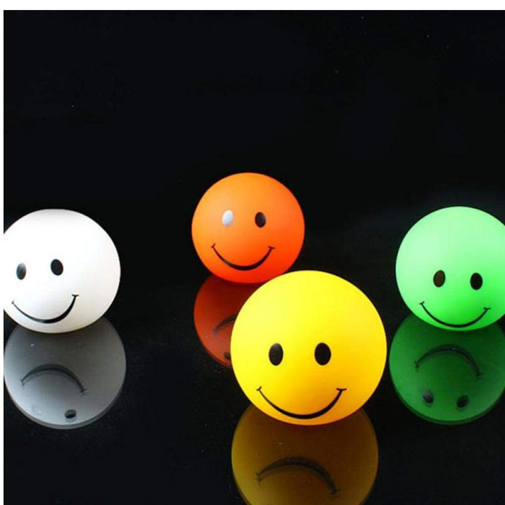 Zonster Smiley Emoticon Lampe Version 3D Emoji Veilleuse Lampe Ronde Changable Couleur Sourire Chambre Lampe Enfants Cadeau danniversaire