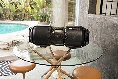 Sharp GX-BT9X Large Portable Bluetooth BoomBox Speaker by Sharp (Image #2)