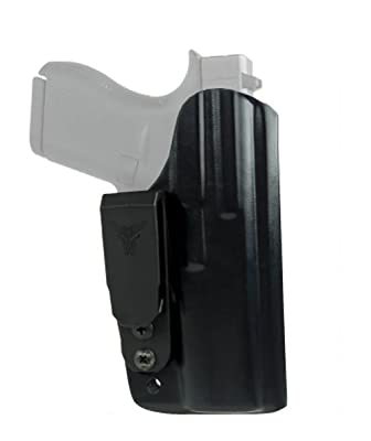 Blade Tech Industries Inside the Waistband Klipt Appendix Fits Glock 17/22/31 Holster, Black