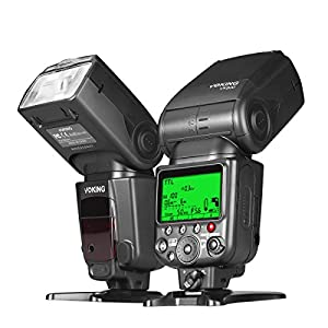 Voking VK800 I TTL External Camera Flash Slave Speelite for Nikon D3400 D3300 D3200 D5600 D850 D750 D7200 D5300 D5500 D500 D7100 D3100 and other Digital SLR Cameras by Chengdu Voking Digital Ltd
