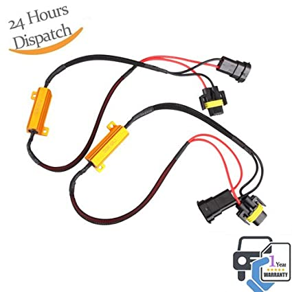 Electric Vehicle Parts Automobiles & Motorcycles 2x H8 H11 Led Drl Fog Light Canbus 50w Load Resistor Error Free Decoder Cancel At All Costs