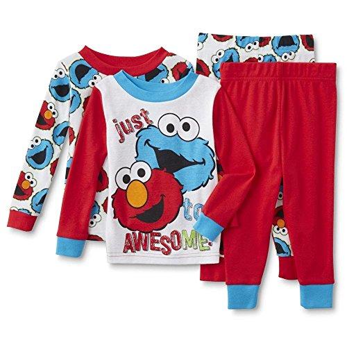 Sesame Street Toddler Pajamas Monster