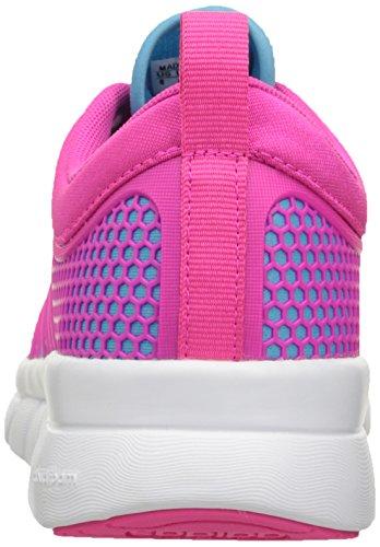 Adidas Neo Cloudfoam Groove W ocasional de la zapatilla de deporte, / negro / color de rosa negro de