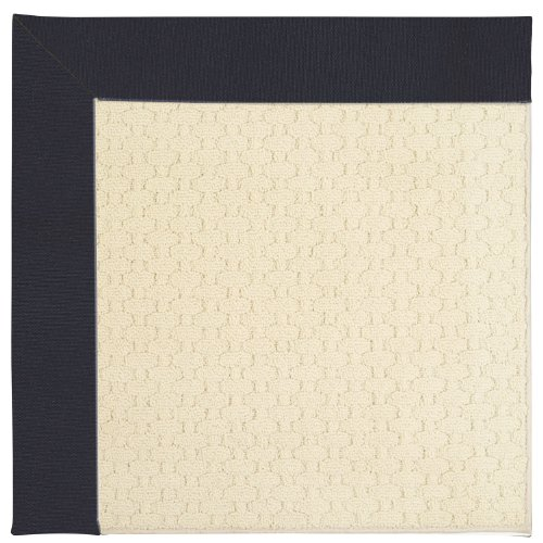 10' x 10' Octagonal Made-to-Order Capel Area Rug 2008GS1000497 Dark Navy Color Machine Made in USA