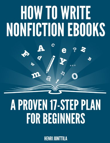 How Write Nonfiction eBooks Beginners ebook product image