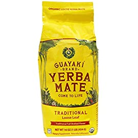 Guayaki, Yerba Mate, Loose Leaf Tea, 16 oz (454 g) -- 2PC 7