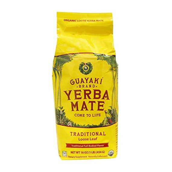 Guayaki, Yerba Mate, Loose Leaf Tea, 16 oz (454 g) -- 2PC 1
