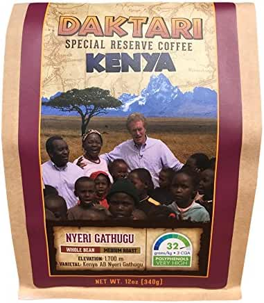 Daktari Kenya Gathugu 12oz Whole Bean - Coffee Lover's Diet