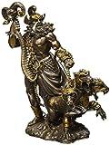Greek God Of Underworld Hades With Cerberus Dog Statue Roman Figure