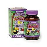vitamin d kids - Bluebonnet Super Earth Rainforest Animalz Vitamin D3 400 IU Chews, Mixed Berry, 90 Count