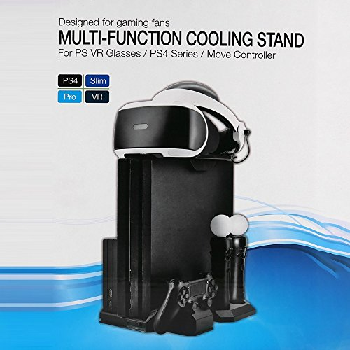 baynne-vertical-charging-and-display-stand-for-ps4-cooling-fan-cooler-with-controller-charger-station-showcase-stand-for-ps4-series-for-vr-glasses