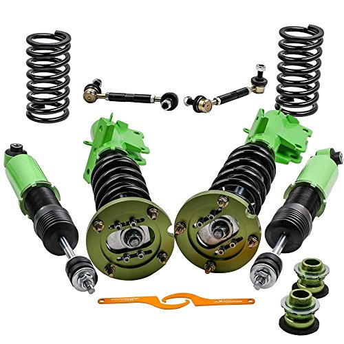 - Suspension Shock Absorber Struts for Ford Mustang 4th 2005-2014 Adj. Height & Mount Complete Coilovers Kits