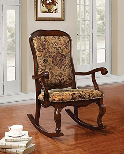 Simple Relax 1PerfectChoice Sharan Cherry Rocking Chair by Simple Relax